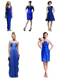 bright blue bridesmaid dresses | Bouquet Wedding Flower