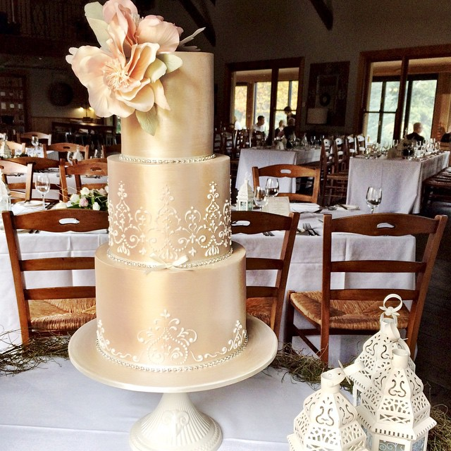 The Gold Standard Cake