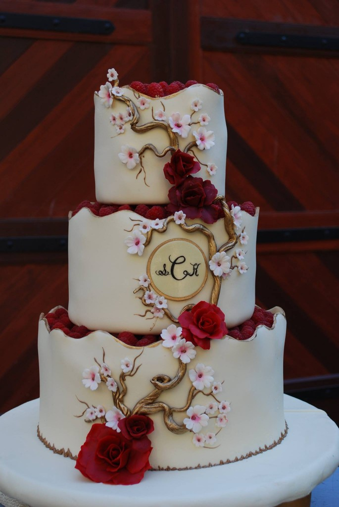 Red And White Wedding Cakes Archives Bouquet Wedding Flower