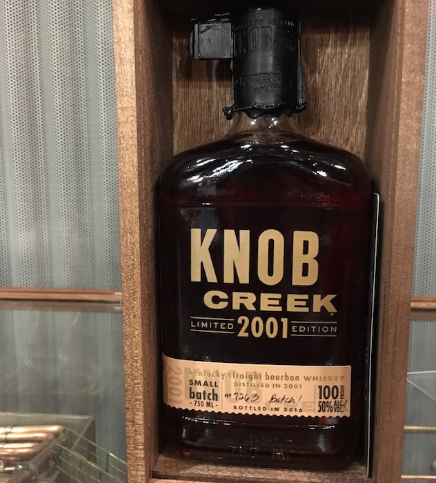 Tasted: Knob Creek 2001 Limited Edition Bourbon