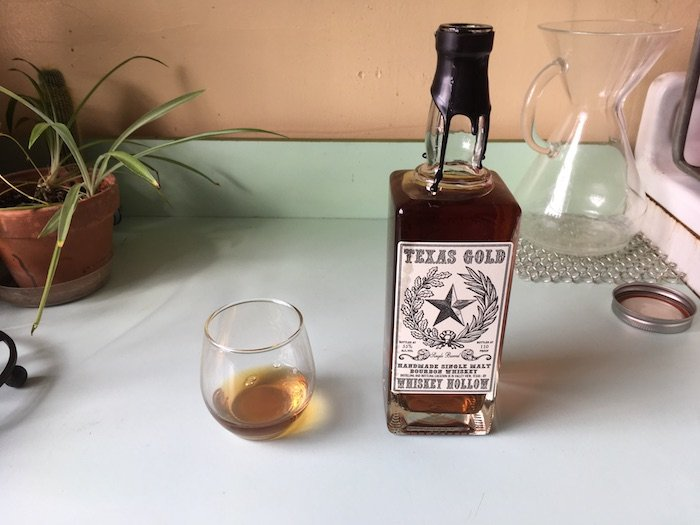 Tasted: Whiskey Hollow Texas Gold Single Malt Bourbon Whiskey