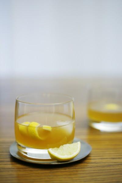 Bourbon Gold Rush Cocktail | BourbonAndHoney.com