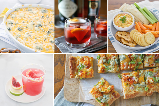Recipe Roundup: 20 Best Super Bowl Snacks and Cocktails | BourbonandHoney.com