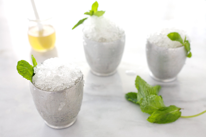 Bourbon and Honey Mint Julep | BourbonAndHoney.com