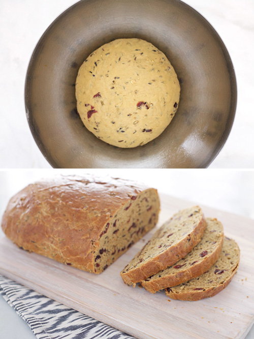 Cranberry Wild Rice Bread | BourbonAndHoney.com