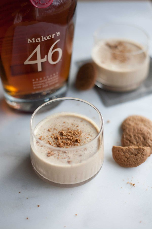 Bourbon and Honey Gingerbread Eggnog | BourbonandHoney.com