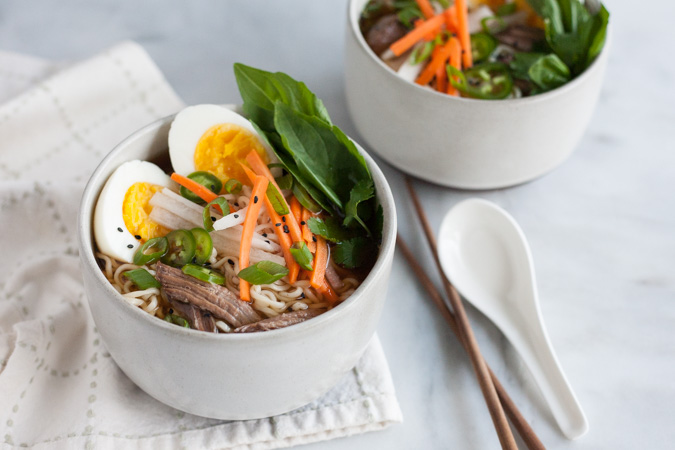 Slow Cooker Pork Ramen