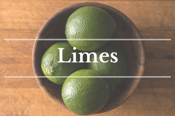 What's in Season: February - Limes   BourbonandHoney.com