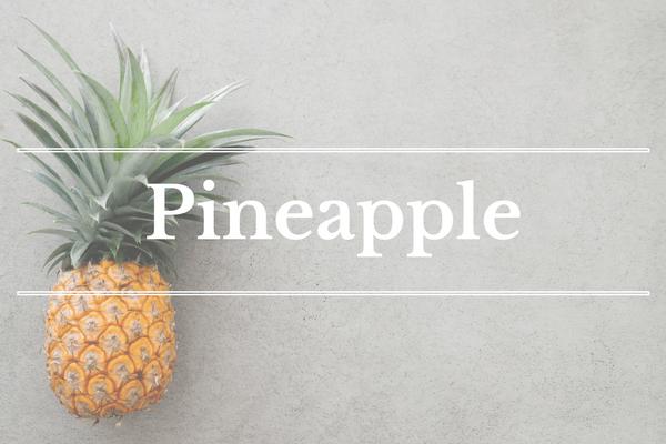 What's in Season: March - Pineapple   BourbonandHoney.com