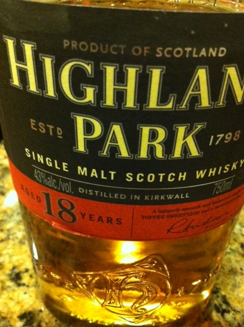 Highland Park 18 year review