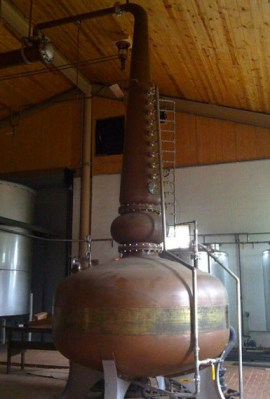 Kentucky Bourbon Distillers Copper Pot Still