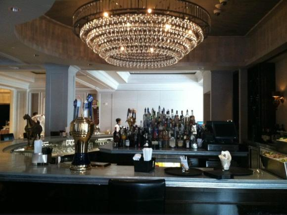 Crescent Bar is part of last year's renovations to Hotel Montleone's Carousel Bar
