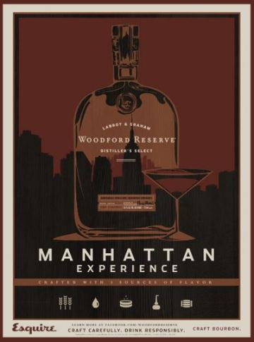 Manhattan Experience Woodford_Reserve Bourbon Esquire Magazine