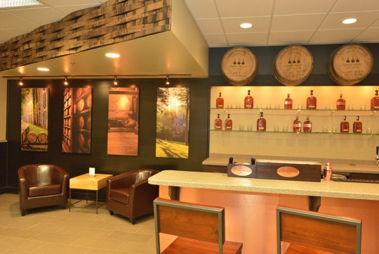 Woodford Reserve Bar at Fort Knox
