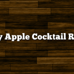 Candy Apple Cocktail Recipe