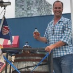 Jefferson's Journey Comes to an End as Two Bourbon Barrels Arrive on Boat 1 Year Later in New York