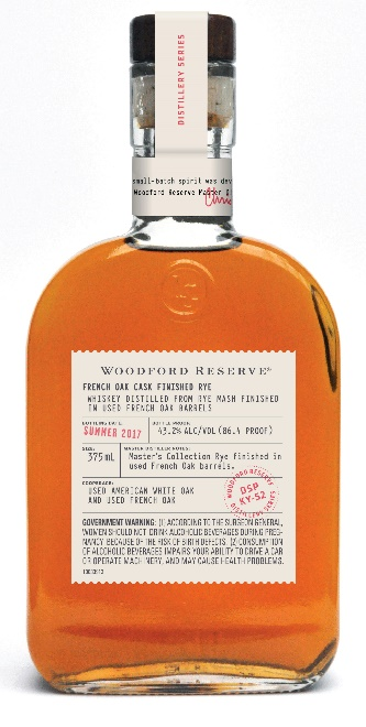 Woodford Reserve French Oak Cask Finished Rye