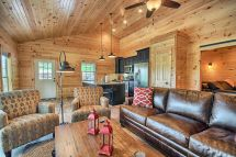 Bookers Luxury Cabin Bourbon Ridge Retreat Hocking