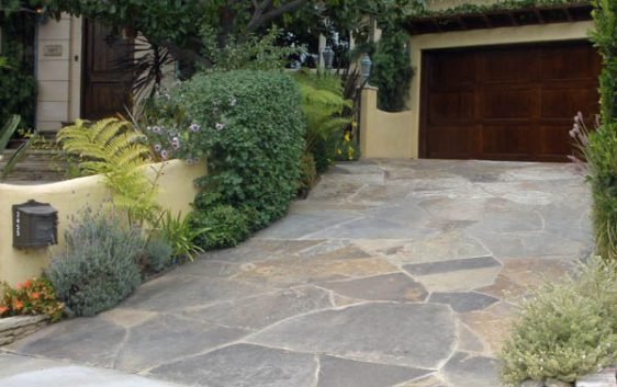 DIY Flagstone Patio