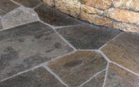 Flagstone Charcoal Quartzite Patio Pavers - Bourget Bros
