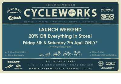 Bournemouth Cycleworks Launch Event