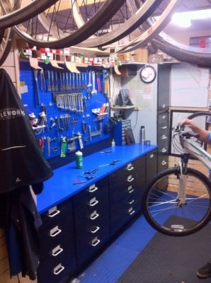Bike Repairs in Bournemouth - Bournemouth Cycleworks Workshop