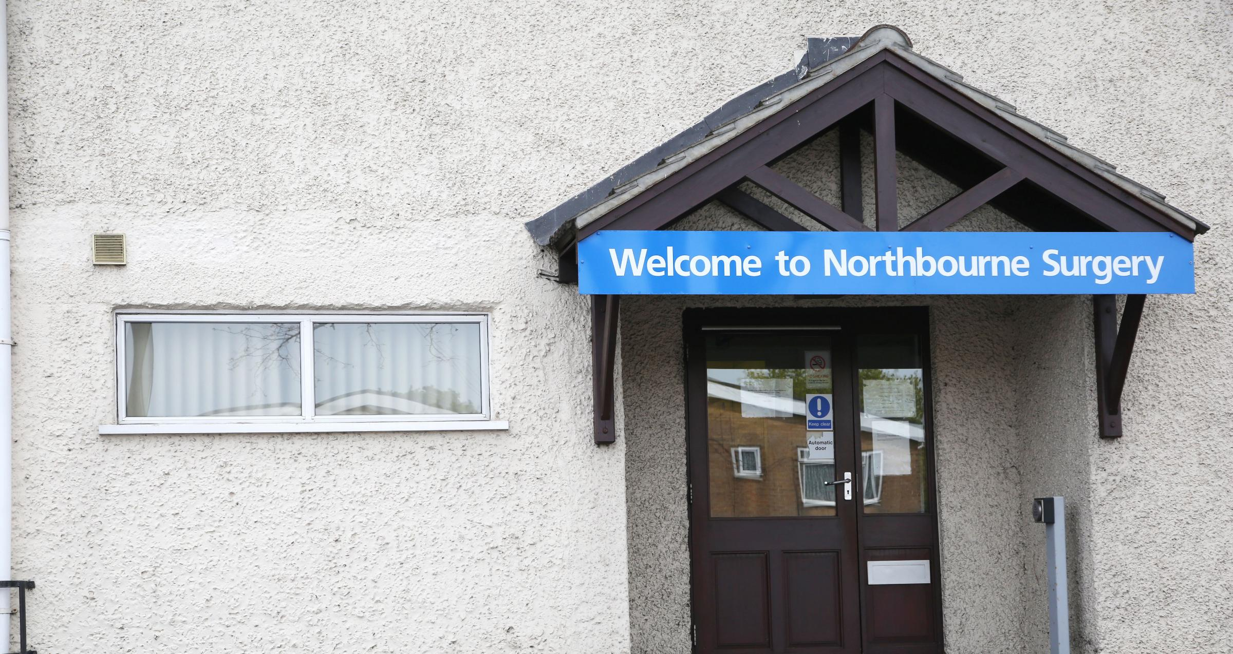 FAILING: Northbourne Surgery has been rated inadequate by the Care Quality Commission