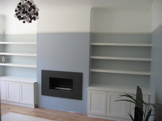Bournes Fine Furniture  Alcove units and floating shelves