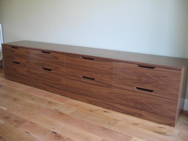 Bournes Fine Furniture TV Bench And DVD Storage Units