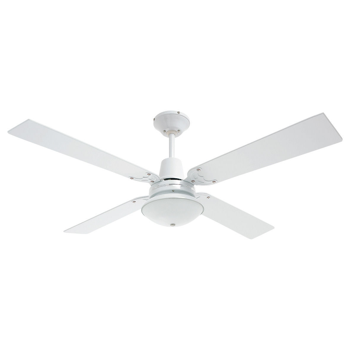 HELLER 4 Blade Maxwell Ceiling Fan with Light
