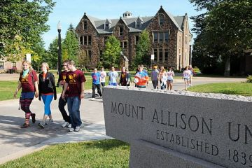 Etudier au Canada à L'Université Mount Allison