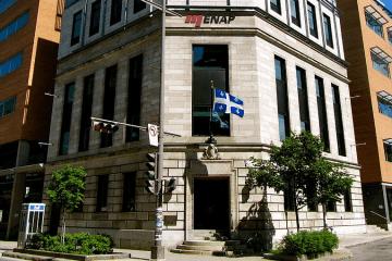 Formation au Québec au Canada à l'ENAP