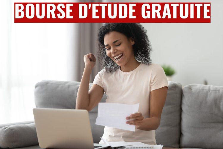 Inscription Bourse d'étude gratuite