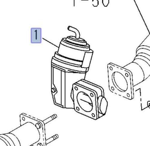 Exhaust Brake Unit For ISUZU NPR NQR NPR-HD 2002-2007 4.8L