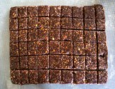 Dates cut into squares