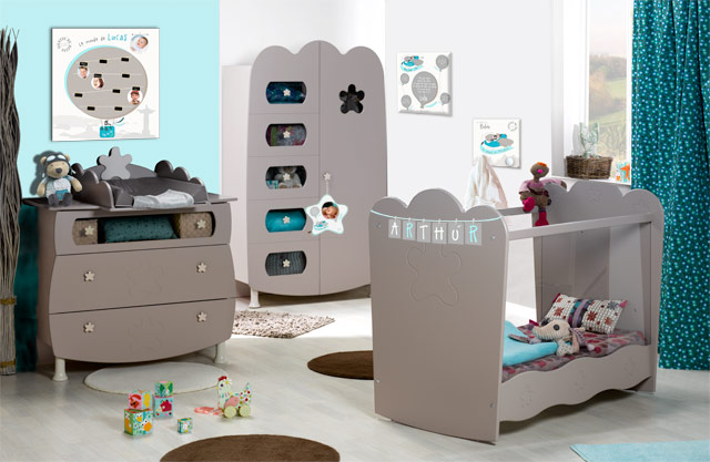 deco chambre bebe theme voyage  visuel 3