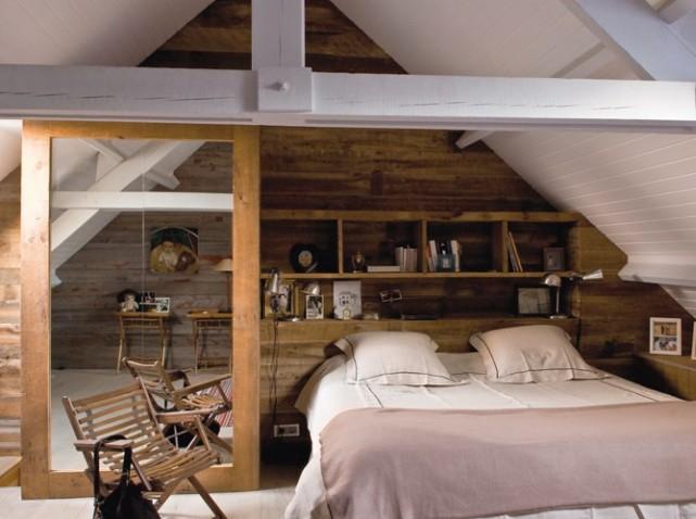 deco chambre en bois