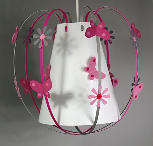 luminaire chambre bebe rose  visuel 9