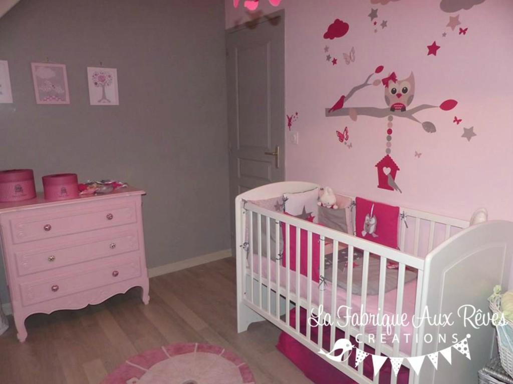 chambre bebe fille deco  visuel 3