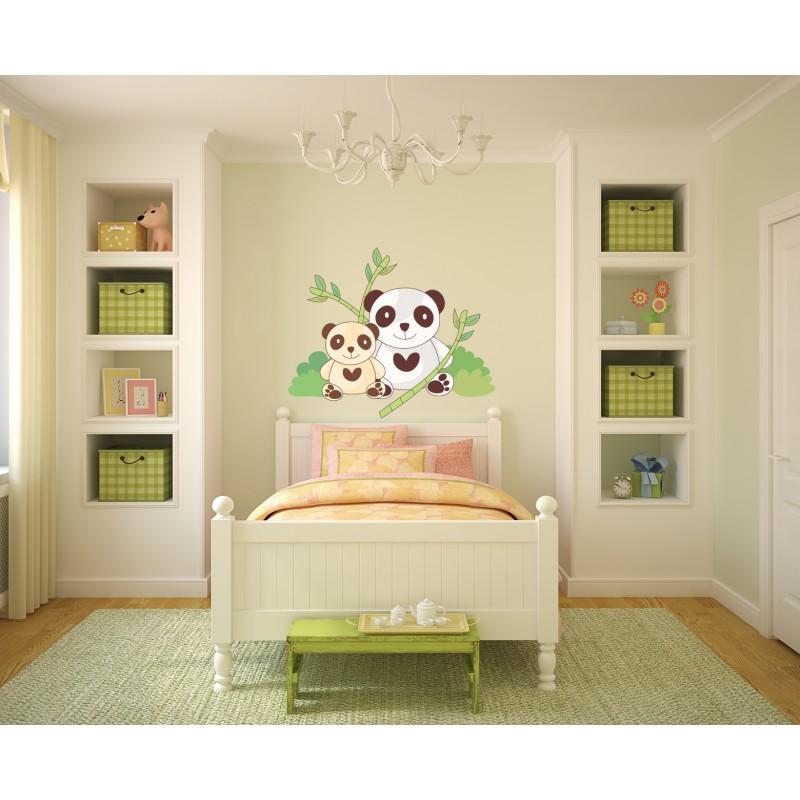 deco chambre bebe panda