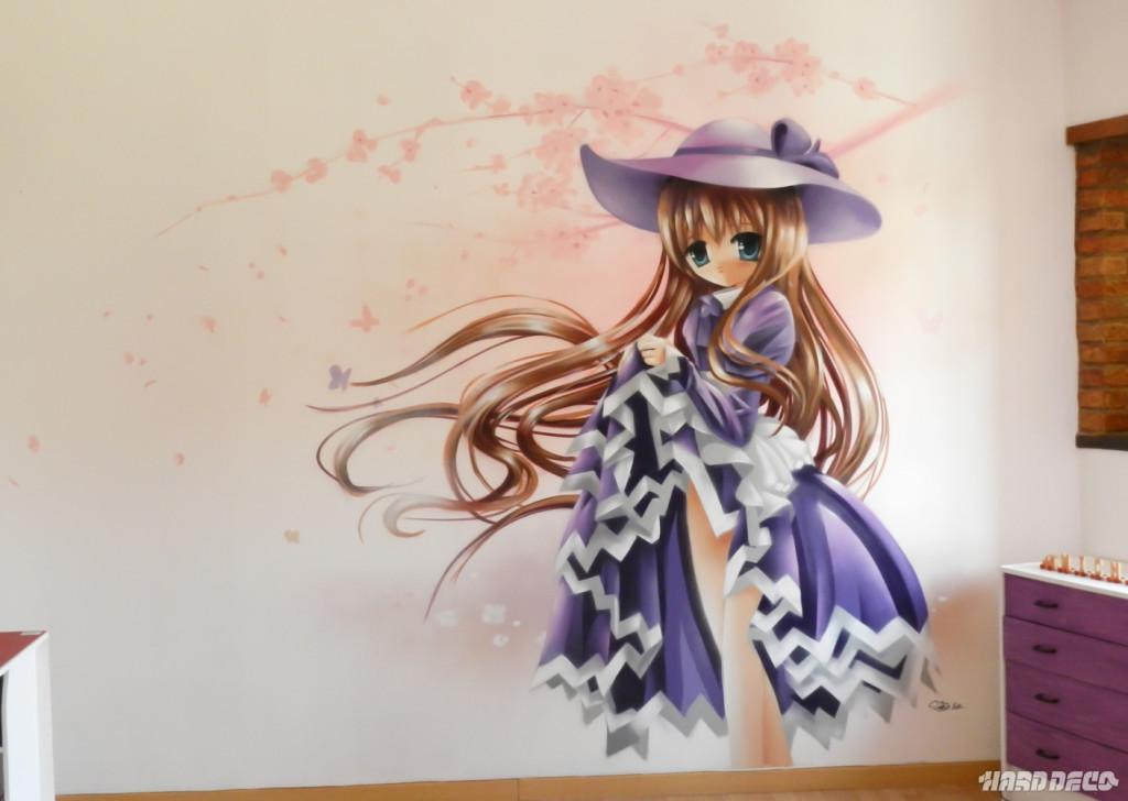 Decoration Chambre Fille Manga Visuel 2
