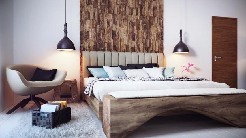 dco chambre en bois