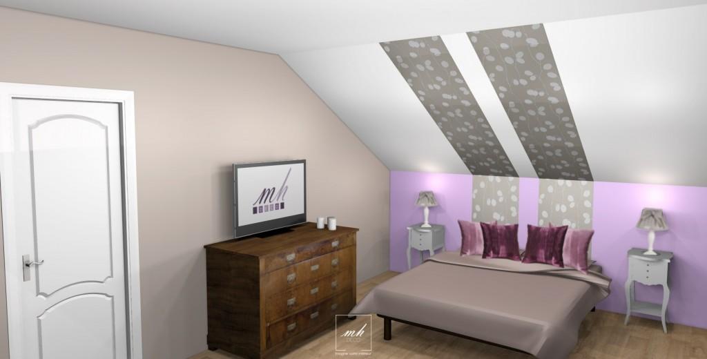 Decoration Chambre Sous Pente