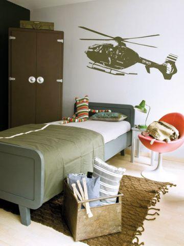 deco chambre ado militaire