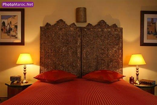 deco de chambre marocaine