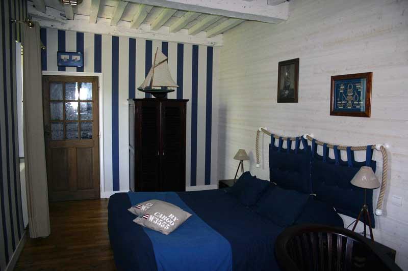 decoration chambre marine