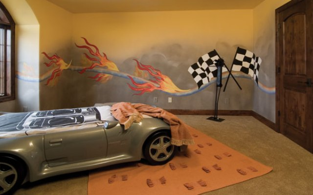 Decoration Chambre Theme Voiture