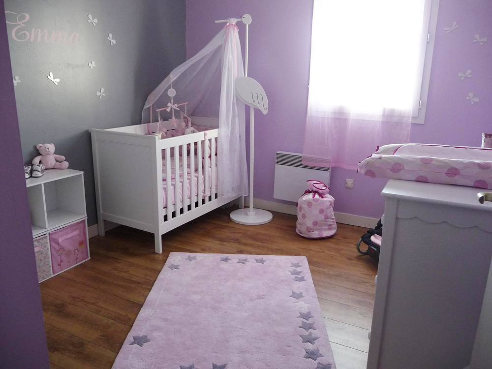 dcoration chambre bebe fille
