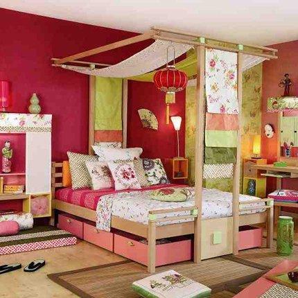 Chambre Fille Multicolore