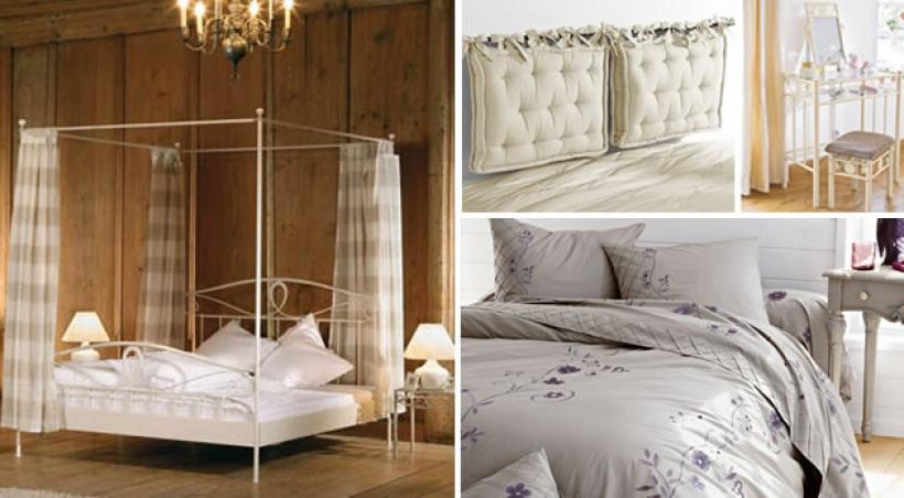 decoration chambre style romantique